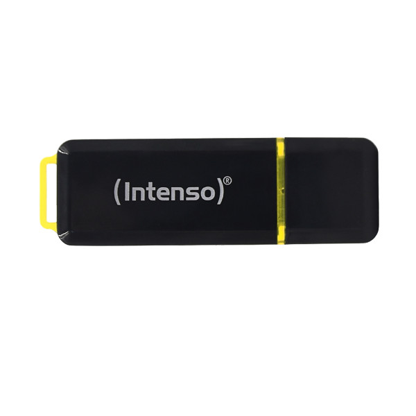 Intenso High Speed Line USB-Stick 128 GB USB Typ-A 3.2 Gen 1 (3.1 Gen 1) Schwarz, Gelb