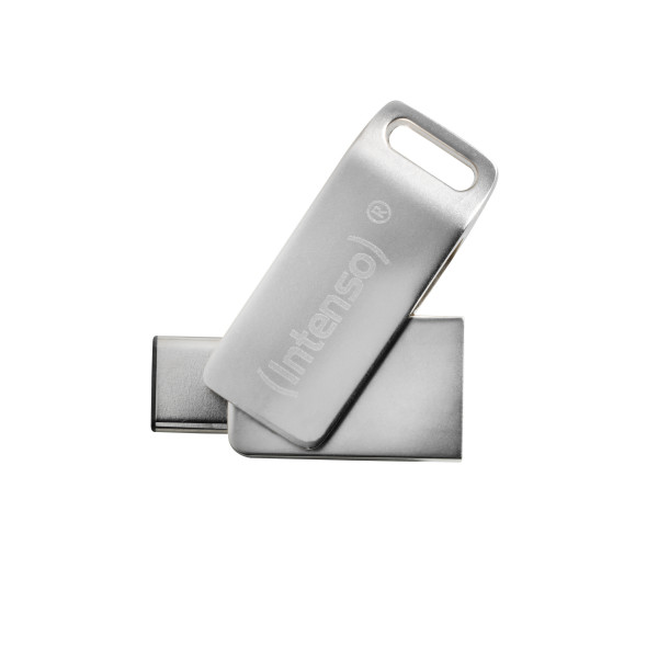 Intenso cMobile Line USB-Stick 32 GB USB Type-A / USB Type-C 3.2 Gen 1 (3.1 Gen 1) Silber