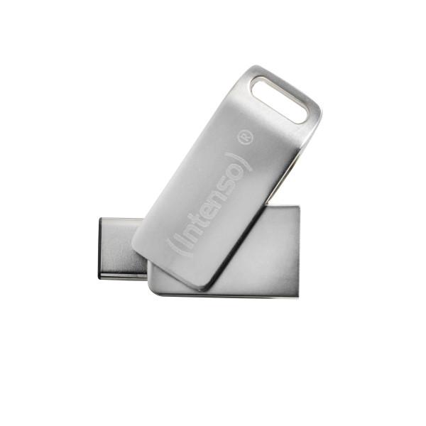 Intenso cMobile Line USB-Stick 64 GB USB Type-A / USB Type-C 3.2 Gen 1 (3.1 Gen 1) Silber