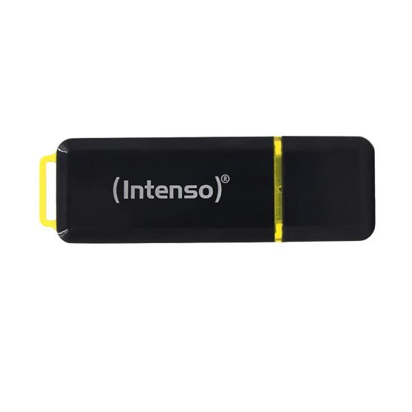 Intenso High Speed Line USB-Stick 64 GB USB Typ-A 3.2 Gen 2 (3.1 Gen 2) Schwarz, Gelb