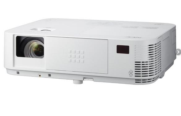 NEC M403H Beamer Desktop-Projektor 4000 ANSI Lumen DLP 1080p (1920x1080) 3D Weiß