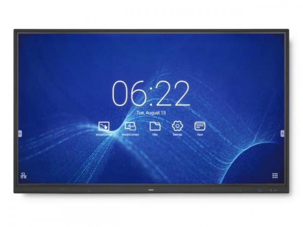 NEC MultiSync CB861Q 2,18 m (86 Zoll) IPS 4K Ultra HD Touchscreen Digital Beschilderung Flachbildsch