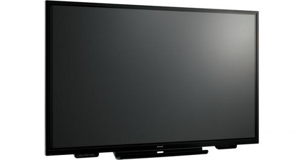 Sharp PN-85TH1 Interaktiver Flachbildschirm 2,16 m (85 Zoll) LCD 4K Ultra HD Schwarz Touchscreen