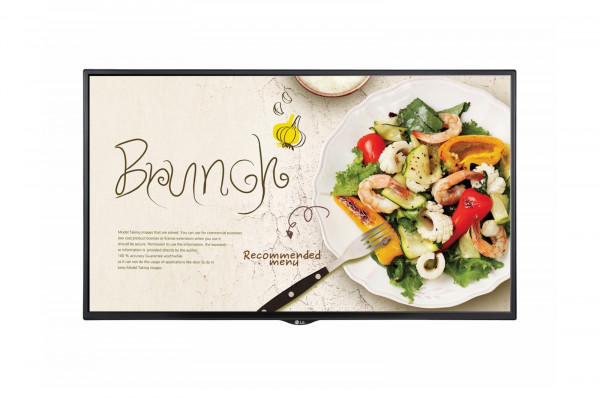 LG 43SM5KE-B Signage-Display Digital Beschilderung Flachbildschirm 109,2 cm (43 Zoll) LED Full HD Sc