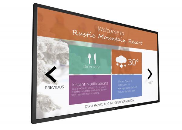 Philips Signage Solutions 55BDL4051T/00 Signage-Display Digital Beschilderung Flachbildschirm 138,8
