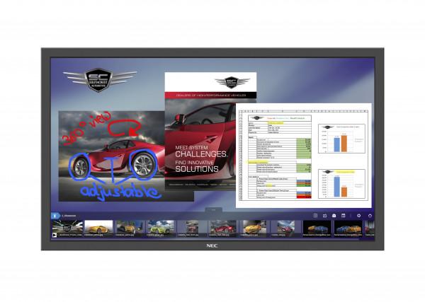 NEC MultiSync P484 SST Digital Beschilderung Flachbildschirm 121,9 cm (48 Zoll) LED Full HD Schwarz