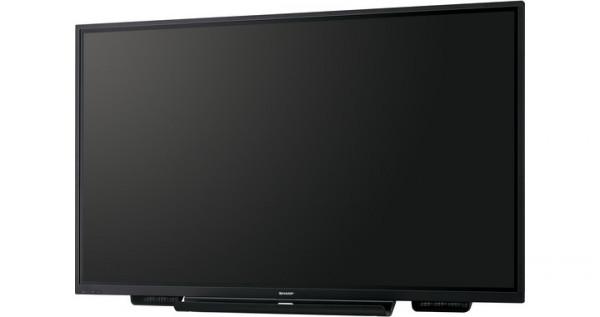 Sharp PN-75TH1 Interaktiver Flachbildschirm 190,5 cm (75 Zoll) LCD 4K Ultra HD Schwarz Touchscreen