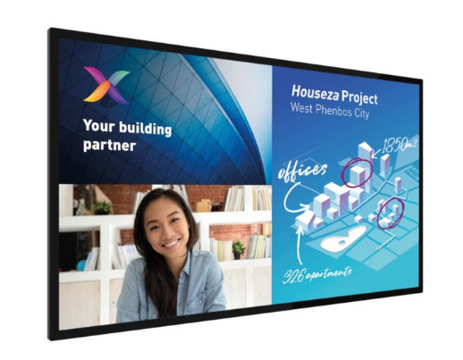 Philips 75BDL8051C/00 Signage-Display 190,5 cm (75 Zoll) 4K Ultra HD Schwarz Touchscreen Android 9.0