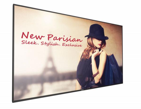 Philips 65BDL4150D 163,8 cm (64.5 Zoll) 4K Ultra HD Digital Beschilderung Flachbildschirm Schwarz An