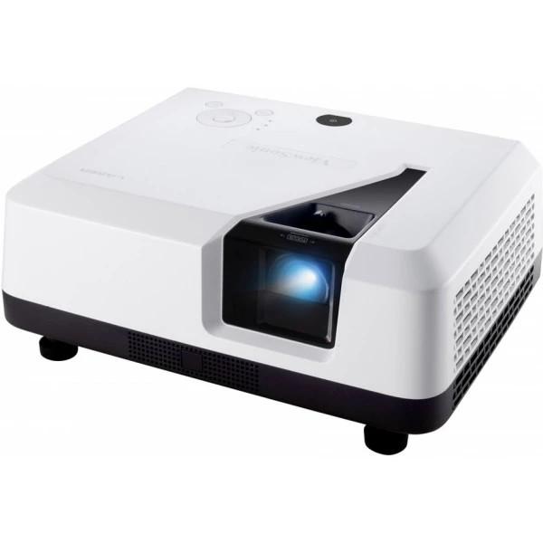 Viewsonic LS700-4K Beamer Standard Throw-Projektor 3300 ANSI Lumen DMD 2160p (3840x2160) 3D Weiß