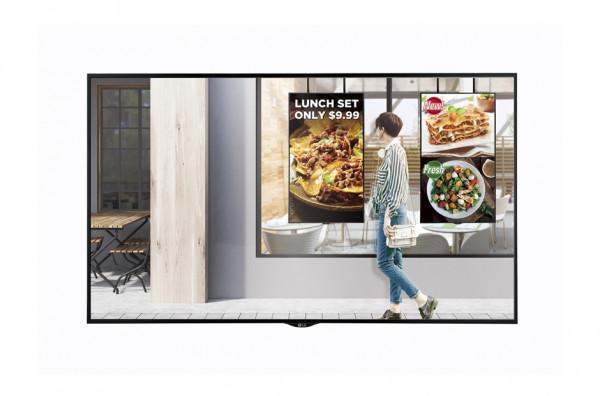 LG 49XS2E-B Signage-Display Digital Beschilderung Flachbildschirm 124,5 cm (49 Zoll) LED Full HD Sch