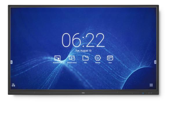 NEC MultiSync CB651Q Interaktiver Flachbildschirm 165,1 cm (65 Zoll) LED 4K Ultra HD Schwarz Touchsc