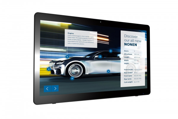 Philips Signage Solutions Multitouch-Monitor 24BDL4151T/00