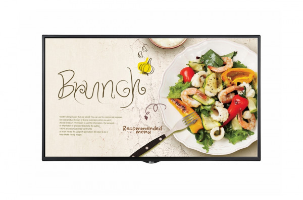 LG 55SM5KE-B Signage-Display Digital Beschilderung Flachbildschirm 139,7 cm (55 Zoll) LCD Full HD Sc