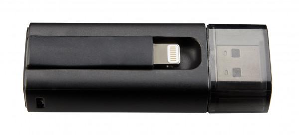 Intenso iMobile Line USB-Stick 64 GB USB Type-A / Lightning 3.2 Gen 1 (3.1 Gen 1) Schwarz