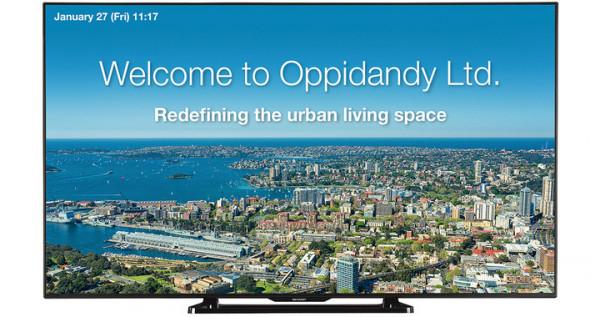 Sharp PN-Q601E Signage-Display 152,4 cm (60 Zoll) LCD Full HD Digital Beschilderung Flachbildschirm