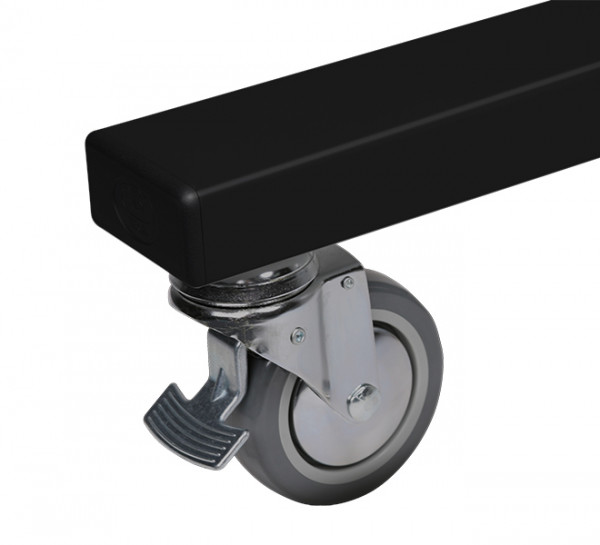 B-Tech BT8510/BB Flachbildschirm-Tischhalterung 96,5 cm (38 Zoll) Schwarz