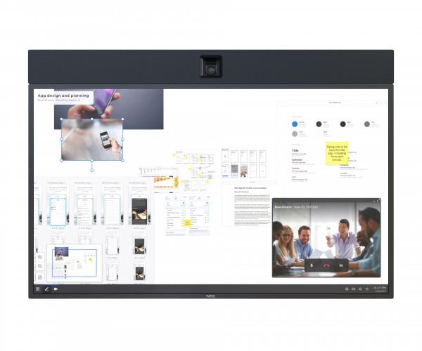 NEC InfinityBoard 2.1 Videokonferenzsystem Eingebauter Ethernet-Anschluss Gruppen-Videokonferenzsyst