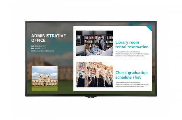 LG 43SE3KE-B Signage-Display Digital Beschilderung Flachbildschirm 109,2 cm (43 Zoll) LED Full HD Sc