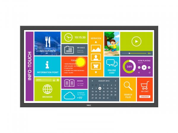 NEC MultiSync P554 SST 139,7 cm (55 Zoll) LCD Full HD Digital Beschilderung Flachbildschirm Schwarz