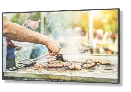 NEC C551 Digital Beschilderung Flachbildschirm 139,7 cm (55 Zoll) LED Full HD Schwarz