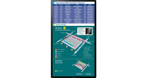 Sharp PN-80TH5 2,03 m (80 Zoll) 3840 x 2160 Pixel Multitouch Multi-Nutzer Schwarz