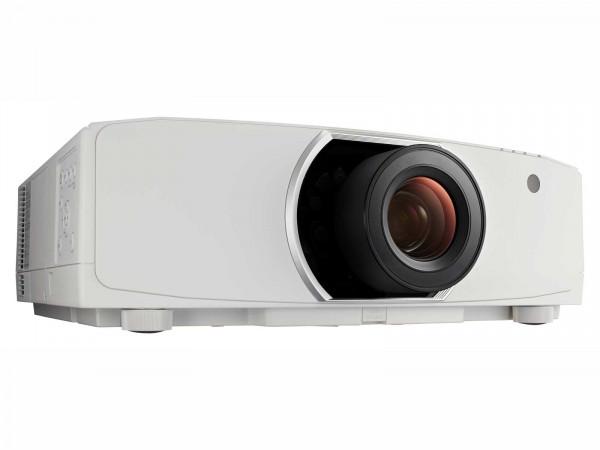 NEC PA853W Beamer Desktop-Projektor 8500 ANSI Lumen 3LCD WXGA (1280x800) 3D Weiß