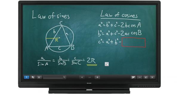 Sharp PN-60SC5 Interaktives Whiteboard 152,4 cm (60 Zoll) 1920 x 1080 Pixel Touchscreen Schwarz