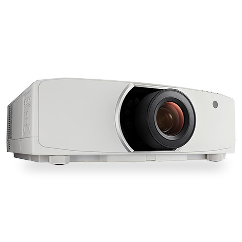 NEC PA903X Beamer Desktop-Projektor 9000 ANSI Lumen LCD DCI 4K (4096x2160) Weiß