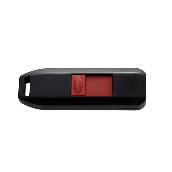 Intenso 64GB USB2.0 USB-Stick USB Typ-A 2.0 Schwarz, Rot