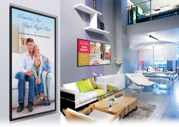 Sharp PN-E803 2,03 m (80 Zoll) LCD Full HD Digital Beschilderung Flachbildschirm Schwarz