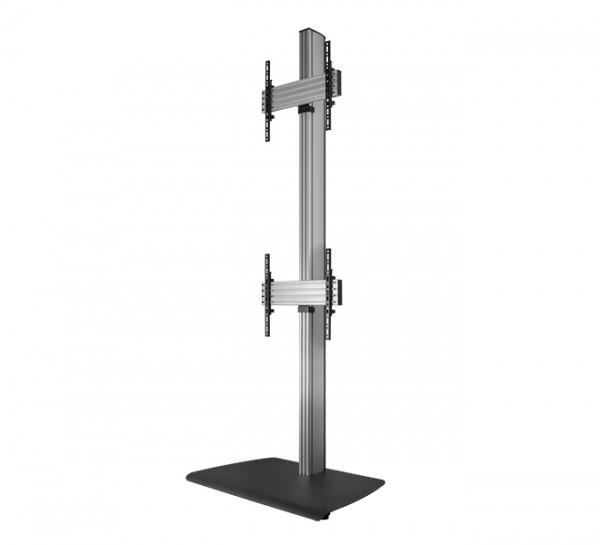 B-Tech BTF842 165,1 cm (65 Zoll) Schwarz, Silber